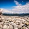quadra Island stone beach