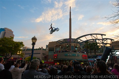 Motorcyle Stunt Show-off
