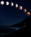N - Llandudno lunar eclipse