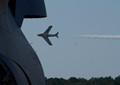 Sabre pass at Wings Over Wayne