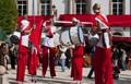 Stilt band, Roman Festival, Lugo