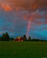 Barn & Rainbow