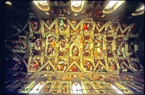 Sistine Chapel Ceiling challenge