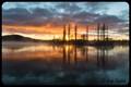 Winter sunrise in Kingston ACT