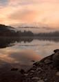 Lake Siskiyou sunrise