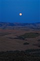 the moon in toscany