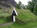 161 Turf church Nupar Iceland