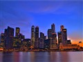 Sunset @ Marina Bay, Singapore