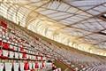 Empty Beijing Olympic stadium