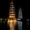 The Sun and Moon Pagodas