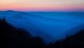 Dawn at Newfound Gap