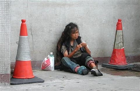 Homeless Lady