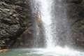 Local Islander on Vitu Lefi Fiji waterfall dive