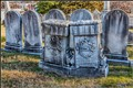 old tombstones