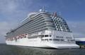 Big cruising ship