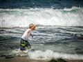 Splashing in Hawaii