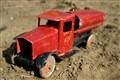 Truck from sandbox