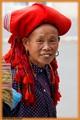 Red hmong women