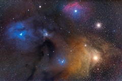 Antares cloud complex in Scorpius
