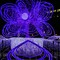 Violet LED Illumination Flower