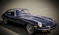 jaguar e-type blue 1