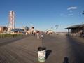 Beach Boardwalk in NYC