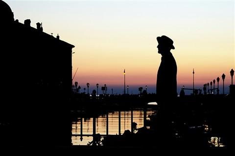 Statua di James Joyce