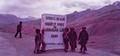 pass at Druss,Srinagar-Leh Road,in1982