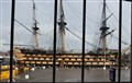 HMS Victory museum view