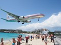 American Airlines in St Maarten