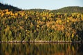Fall on the Saguenay Fjord