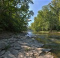 Olentangy River, Delaware, Ohio USA