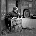The cigarette of litter bins