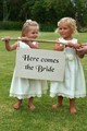 Two of my granddaughters at the wedding of their uncle 5 years ago.
