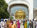 Street life at the Golden Temple