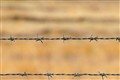 China-Russia border's barbed wire
