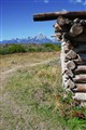 Cunningham Cabin in the Tetons