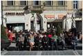 Late Autumn in Brasov, Main Square