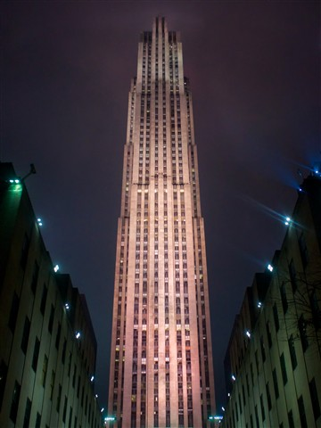 30 Rock at Night