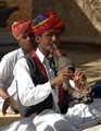 Musician in India