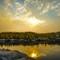 Leprechaun Lake Sunset