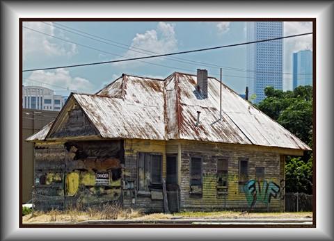 house on Nance Street Houston