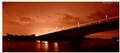 The beautiful bridge at night