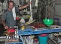 Filipino Barbecue Vendor
