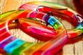 Rainbow in an Earring