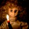 Candle Lit Christmas Angel Doll