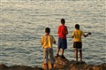 Kids FIshing Havana
