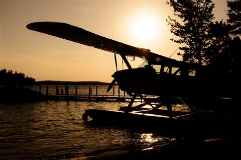 Golden Seaplane