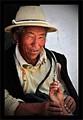 Tibetan medicine man - Tibet - China