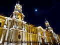 Arequipa chuch by night - Peru